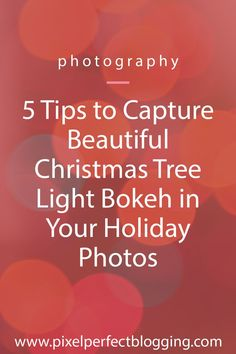 5 Tips to Capture Beautiful Christmas Tree Light Bokeh in Your Holiday Photos - Christmas photography Double Exposure Photography, Levitation Photography, Iphone Photography, Christmas Photography, Winter Photography, Tree Photography, Abstract Photography, Holiday Photos, Christmas Photos