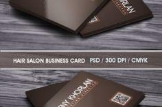 Brown Corporate business card - Creative Fabrica