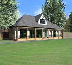 Construction of the new pavilion at Hampton Hill Cricket Club, is about to start. Macdonald Design were appointed architects in late Pavilion, Cricket, The Hamptons, Architects, Architecture Design, Diy Ideas, Paradise, House Ideas, Construction