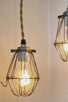 Industrial Cage Shade - Gold @ Rockett St. George. £19.00