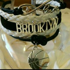 Brooklyn Bracelet Metal Alloy  Material Wax Cord  Faux leather  Lobster Clasp  Adjustable  One size fits most Jewelry Bracelets