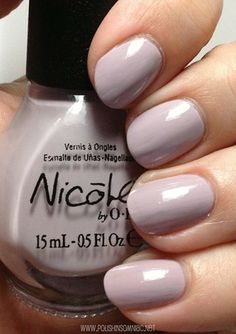 Nicole by OPI Am I Making Myself Claire (Modern Family Collection).. um, they made a modern family collection?