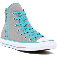 Converse Chuck Taylor Allstar Side Zip High-Top Sneaker (Women)