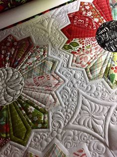Machine Quilting Patterns, Quilting Templates, Longarm Quilting, Free Motion Quilting, Quilt Patterns, Quilting Ideas, Quilt Stitching, Applique Quilts, Millefiori Quilts