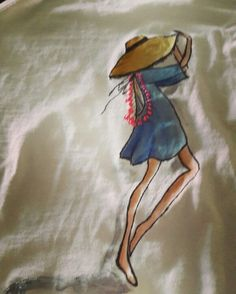 #handpaintedtshirt, #summer, #inslee handpainted tshirt  hand painted t shirt, cotton fabric, non-toxic, water based, permanent fabric colors