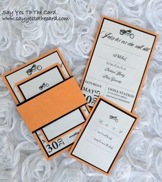 Harley Davidson Themed Wedding Invitation In 5x7 If You Wish To Order This Or Any Other