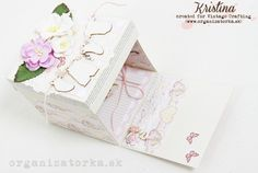 Scrapbookový úkryt na peňažný dar / Baby girl exploding box