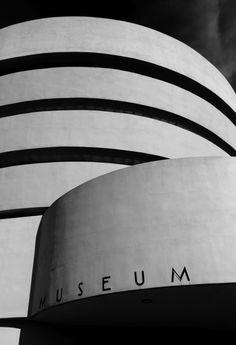 Solomon R. Guggenheim Museum, New York by Frank Lloyd Wright, 1943-1959.