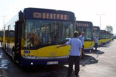 Новые автобусы для Белграда, и что почитать в дороге / 17 марта в Белграде