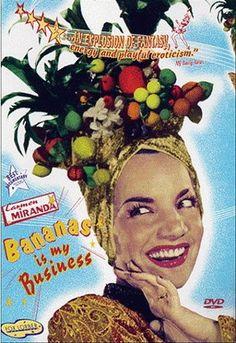 Miranda says Banana's are her business, but doesn't wear them on hear head. #fail