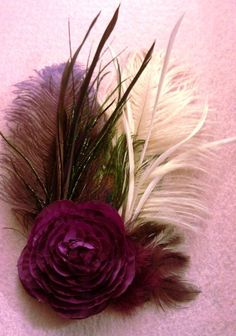 Wedding couture bridal couture peacock feather by msformaldehyde, $22.00