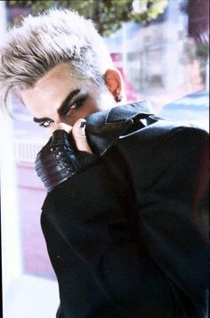Adam Lambert  Source (via @glam_alidol as found on Twitter. Scans by  on Weibo):   pic.twit...  See More    at Japan .