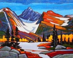 A collection of Paintings by Canadian Painter Nicholas Bott. Watercolor Landscape, Abstract Landscape, Landscape Paintings, Abstract Art, Landscapes, Canadian Painters, Canadian Artists, Oil Painting Pictures, Pictures To Paint