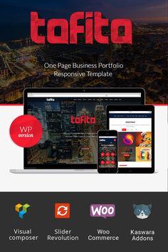WordPress Theme , Tofito - Business Theme
