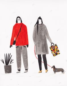Coyote Atelier illustration inspiration: Alessandra Genualdo