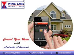Control Your Home with #Android Advanced Mini #Projects for B.Tech ECE/EEE/Mechanical Download projects list & abstracts form www.wineyard.in