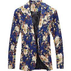 eYourlife2012 Men's Floral Pattern Slim Fit One Button Blazer Jacket Outerwear eYourlife2012 http://www.amazon.com/dp/B00NLXWVBY/ref=cm_sw_r_pi_dp_q2K5ub115TMK2