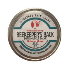 Beekeeper's Back-Sore Muscle Salve