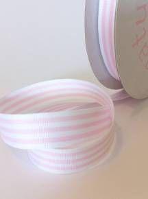 pink and white ribbon