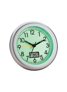 Glow-in-the-Dark Alarm Clock w/ Thermometer from Carol Wright Gifts on Catalog Spree, my personal digital mall.