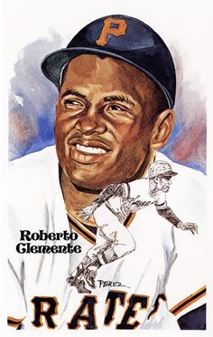 Baseball For Adults Product Mlb Pirates, Pittsburgh Pirates Baseball, Pittsburgh Steelers, Baseball Catchers Gear, Baseball Gear, Baseball Games, Roberto Clemente, Puerto Rico, Baseball Painting