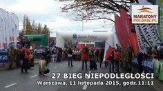 Warszawski 27 Bieg Niepodległości - relacje, zdjęcia, filmy  maratonypolskie.pl