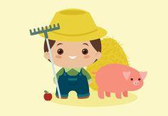 Create a Kawaii Farmer for the Harvest Season in Adobe Illustrator Design Envato Tuts Design & Illustration
