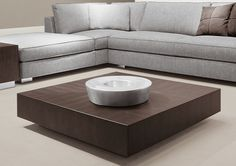 Furniture. Amazing Modern Living Room Table Ideas. Freestanding Modern Square Chocolate Oak Short Living Room Sleeky Coffee Table Feature Tan Base Living Room Ceramic Floor. Modern Living Room Tables