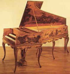 1889 Harpsichord by Pleyel
