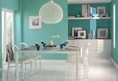 Resultado de imagen para interiores pintados com colores modernos