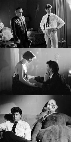 behind the scenes of david lynch's 1986 film, blue velvet.