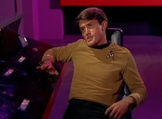Bruce Hyde as Lt. Kevin Riley--and he was in the SF company of Hair...RIP