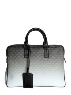 46f314c8c875 EMPORIO ARMANI - GRADIENT LOGO PRINT BRIEFCASE - LUISAVIAROMA - LUXURY  SHOPPING WORLDWIDE SHIPPING - FLORENCE