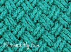 Crochet Tutoral: Celtic Diagonal Weave in Rounds