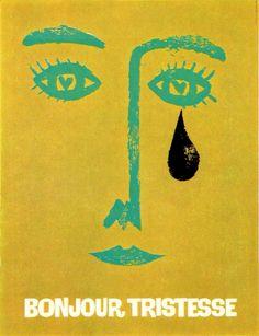 """Bonjour Tristesse"" (1958) - Saul Bass posters"