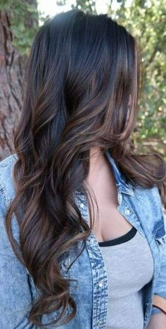 Long Wavy Ash-Brown Balayage - 20 Light Brown Hair Color Ideas for Your New Look - The Trending Hairstyle Brown Hair Balayage, Brown Blonde Hair, Brown Hair With Highlights, Balayage Brunette, Light Brown Hair, Hair Color Balayage, Brunette Hair, Haircolor, Dark Brown