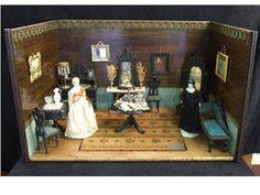 German dollhouse circa 1850 - 1860