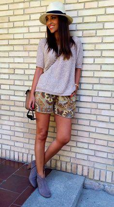 shorts de seda de MASSCOB de ALEJANDRA MONTANER