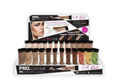 Girl Pro Conceal High Definition Concealer Set of 24 Color Gray Away, It Cosmetics Concealer, Waterproof Concealer, High Definition, Maybelline, Vacuum Cleaners, Color