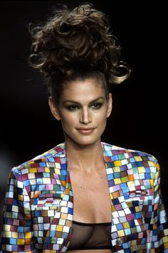 Cindy Crawford in Todd Oldham