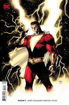 09757db51df Weird Science DC Comics  PREVIEW  Shazam!  4 Dc Comics Art