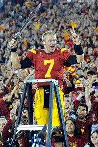 Matt Barkley (QB/USC Trojans) via ESPN.