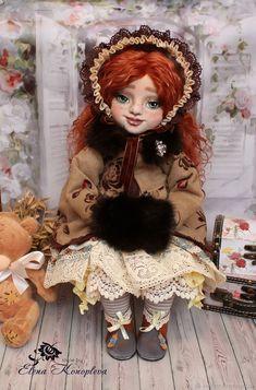 Кукла текстильная Ингрид кукла интерьерная с объемным личиком – купить в интернет-магазине на Ярмарке Мастеров с доставкой