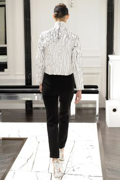 from the back @ Balenciaga Fall 2013