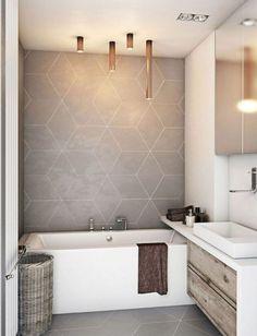 35 Modern Bathroom Decor Ideas Match With Your Home Design Style – – Bathroom Decorations – Bathroom Makeovers Modern Bathroom Tile, Bathroom Tile Designs, Bathroom Interior, Bathroom Ideas, Modern Bathrooms, Small Bathrooms, Bathroom Renovations, Home Remodeling, Ensuite Bathrooms