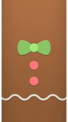 Gingerbread | Holiday iPhone 6 Wallpaper 54