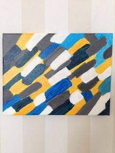 Blå färgvision - Akryl på canvas Contemporary, Rugs, Home Decor, Carpets, Interior Design, Home Interiors, Carpet, Decoration Home, Floor Rugs