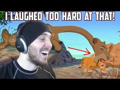 I LAUGHED TOO HARD AT THAT! - Reacting to The Lion King Craziness 2