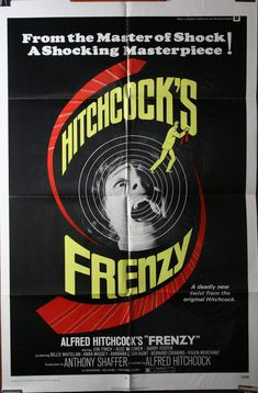 alfred hitchcock movies | FRENZY – Alfred Hitchcock Original Movie Poster