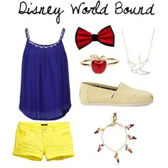 DWB - A comfortable Disney World outfit inspired by Snow White